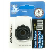 14mm Adaptor for Battle Owl Tracer Unit  (Black)