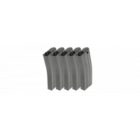 125R Metal Mid-cap Magazine for GR16 (Gray) 5pcs/pack