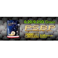 GG Perfect BB, airsoft lövedék, 0.20g zöld 3000r