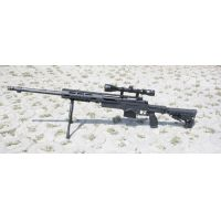 Well MB4412D sniper + scope, bipod
