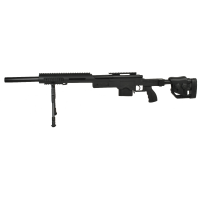 Swiss Arms SAS 10 Black, bipod airsoft sniper