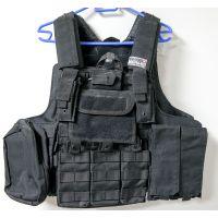Swiss Arms taktikai mellény fekete