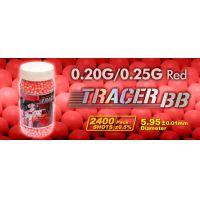 GG tracer BB 0,20gr vörös 2400r