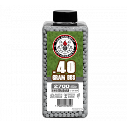 Bio BB 0.4g (Bottle/2700 Pellets) (Grey)