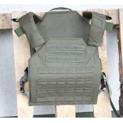 Jump plate carrier, taktikai mellény, zöld