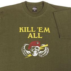Olivie katonai poló- Kill em all - L méret