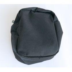 Öv tároló táska, kis méretű, fekete, Molle