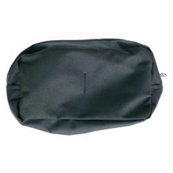 Öv tároló táska, nagy méretű, fekete, Molle