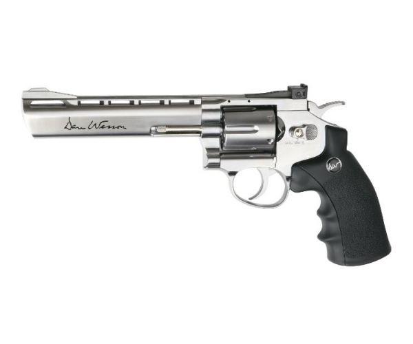 Dan Wesson 6 Revolver - Silver