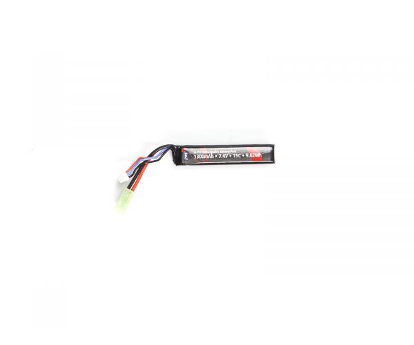 Airsoft akkumulátor 1300mAh 7,4V LI-PO