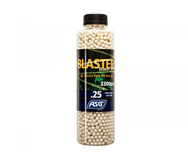 Airsoft BB, tracer 0,25gr 3300