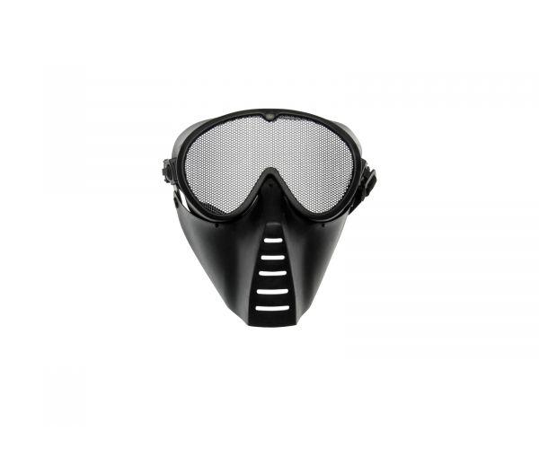 Airsoft maszk, fekete