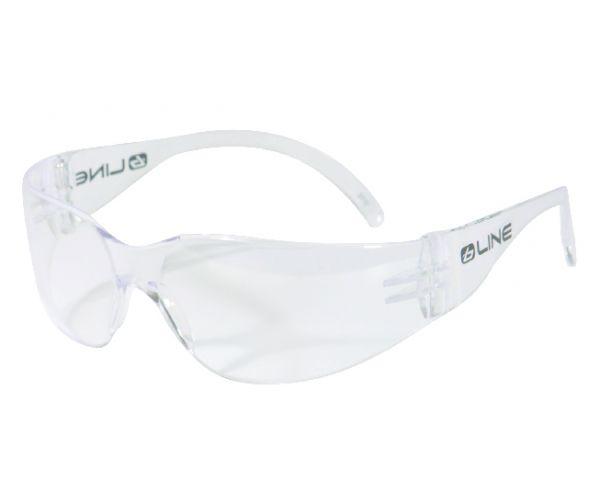 Védő szemüveg, áttetsző
