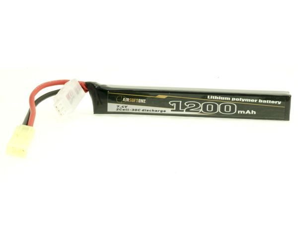 Airsoftone OP-1200/30/2S-1 7.4V LiPo akku