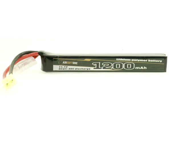 Airsoftone OP-1200/30/3S-1 11.1V LiPo akku
