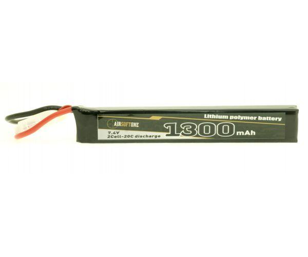 Airsoftone OP-1300/20/2S-1 7.4V LiPo akku