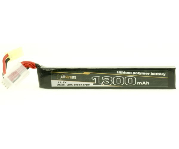 Airsoftone OP-1300/20/3S-1  11.1V LiPo akku