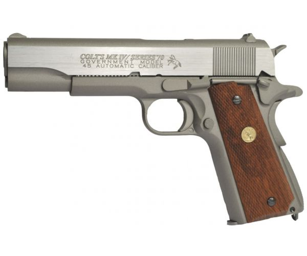 Colt M1911 MKIV Series 70 fegyver szürke GBB airsoft pisztoly