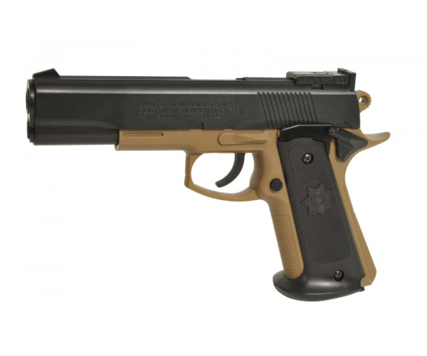 Colt MKIV tan black, airsoft pisztoly