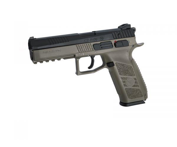 CZ P-09 dark earth, airsoft pisztoly CO2