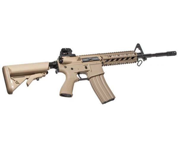 GG CM16 Raider Desert L Combo airsoft fegyver