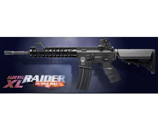 GG GR15 Raider XL Plastic Blow Back airsoft fegyver