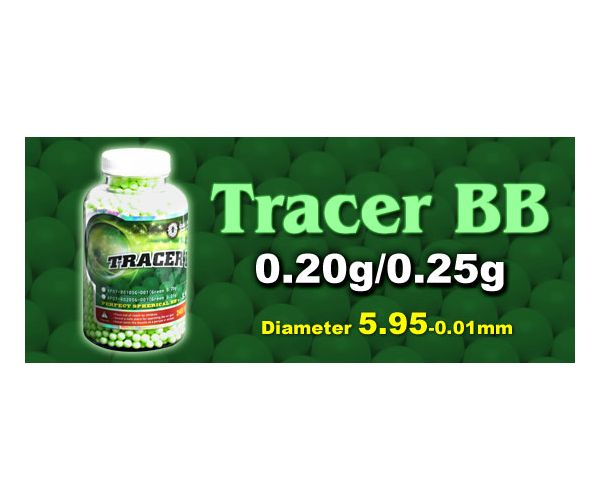 GG Tracer airsoft BB 0,25gr