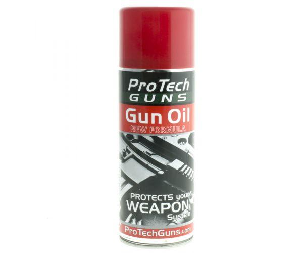 Gun oil, fegyver ápoló Protech 400ml