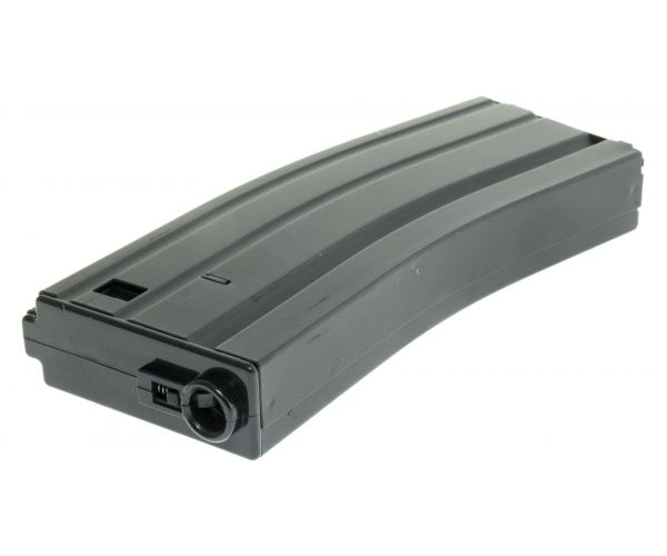 M4/16 airsoft tár, fekete, mid cap 150rd