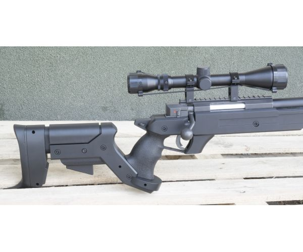MB04D airsoft mesterlövész, bipod, távcső