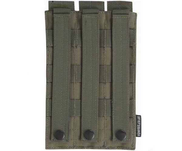 MP5 hármas tár zseb - Olive