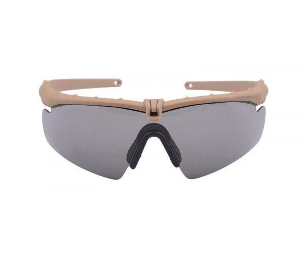 Taktikai szemüveg, sötétitett