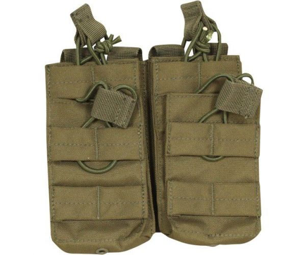 Dupla tártartó - M4-AK - Olive