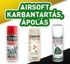 Airsoft ápolás karbantartás