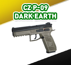 CZ P-09 Dark Earth