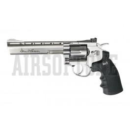 """Dan Wesson 6"""" Revolver - Silver"""