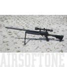 MB13D sniper replika, optikával, bipoddal