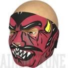 Neoprén airsoft maszk, ördög, full face