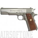 Colt M1911 MKIV Series 70 fegyver szürke GBB airsoft pisztoly